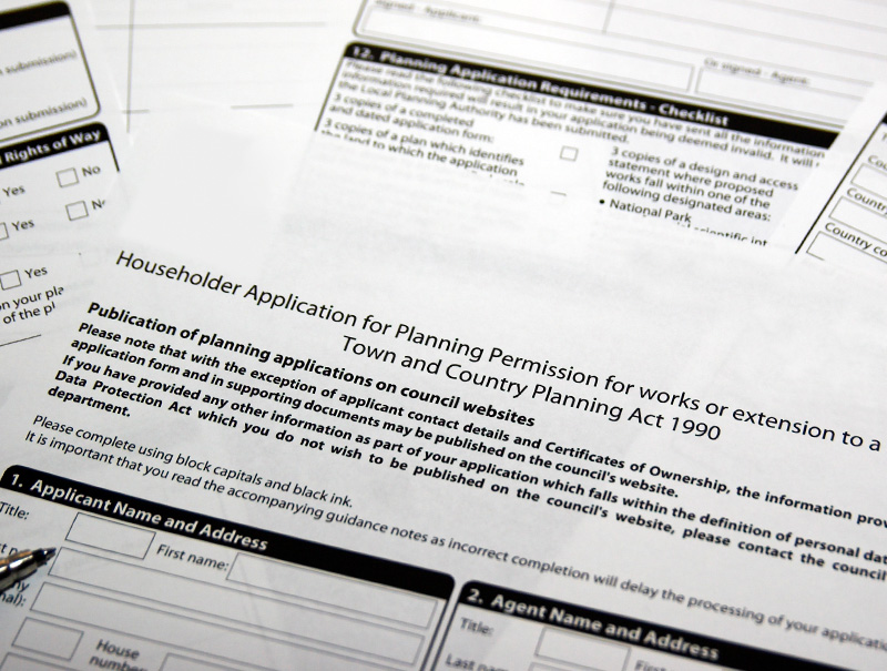 AJ Plans Householder Planning Application